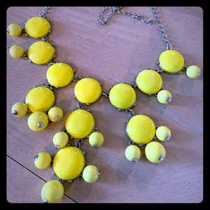 BaubleBar Yellow Bauble Statement Necklace